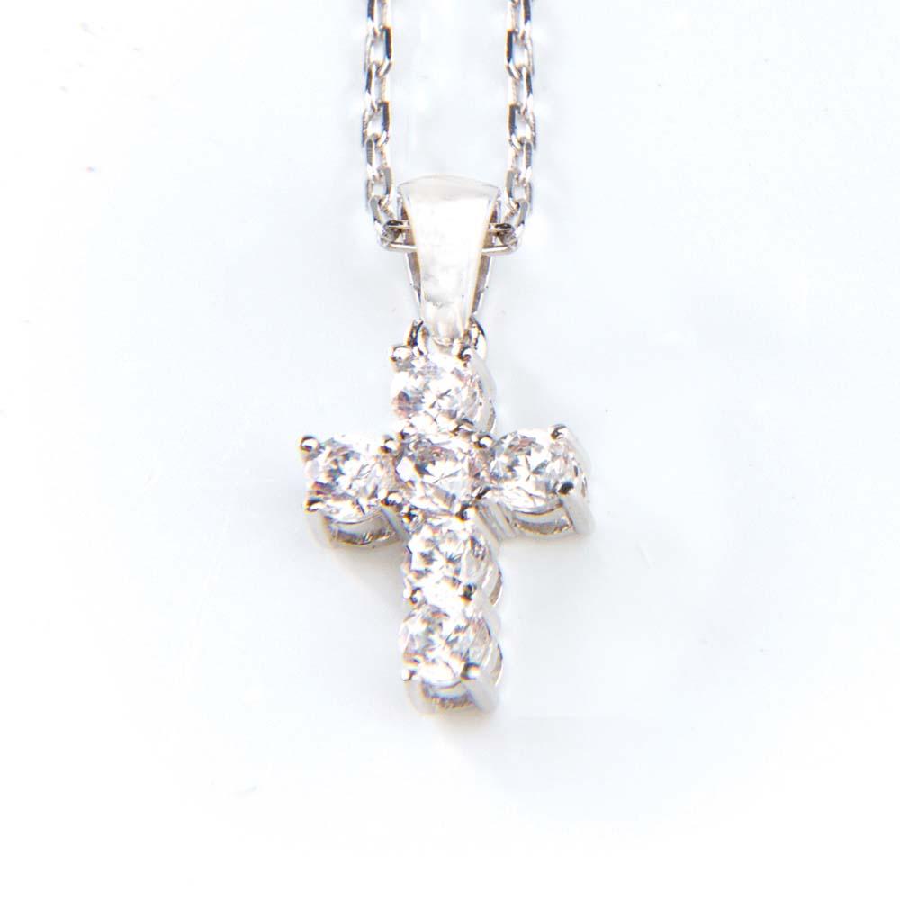 Small cross pendant believe bands small cross pendant aloadofball Gallery